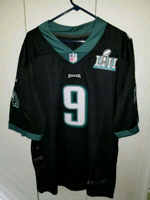 Eagles Nick Foles limited midnight green home Jersey  dce2dd30-9cac-4ac5-91e7-b92427a099c0
