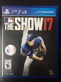 MLB The Show 17 Brand New In Box