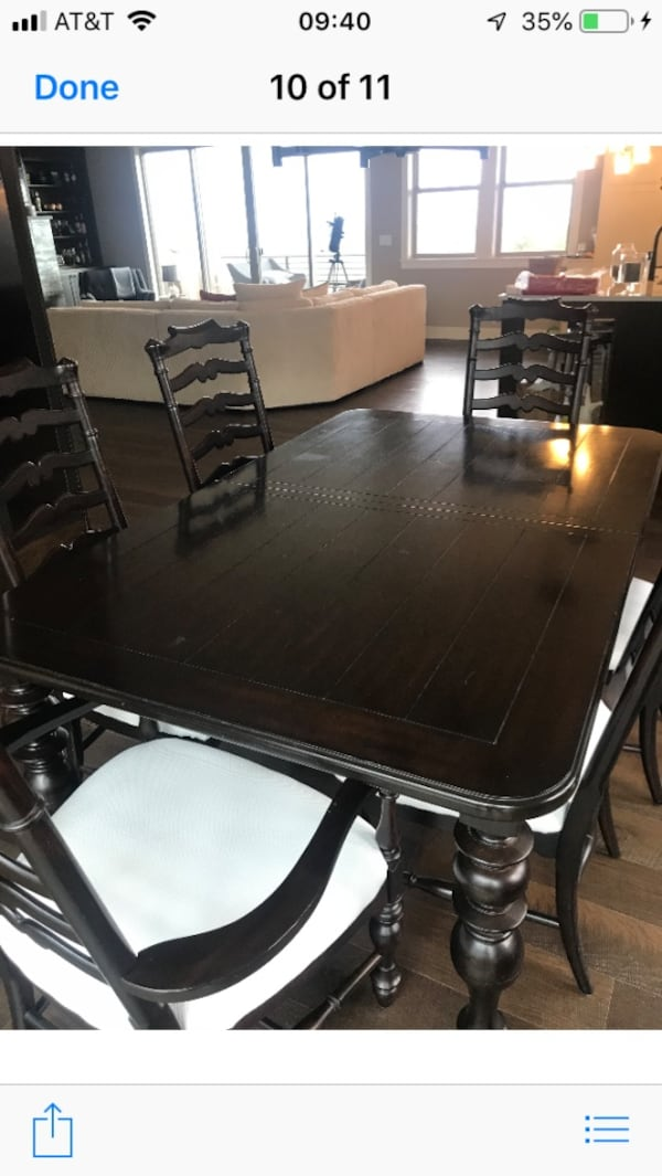 Dining room table w/6 chairs 9351c90f-2832-43de-8e01-d8df95e85aa1