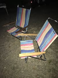 Recliner beach chairs set only 30 Firm, Glen Burnie, 21061
