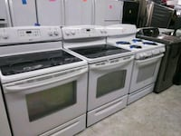 White Electric stove glass top excellent condition Laurel, 20707