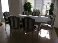 Solid Wood Table and Chairs MARKHAM