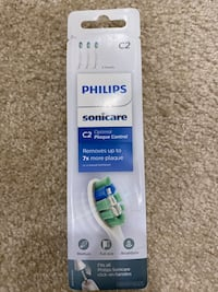 Genuine Philips Sonicare C2 Optimal Plague Control Toothbrush head San Jose, 95133