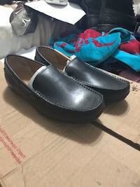 pair of black leather slip-on shoes Decatur, 30034