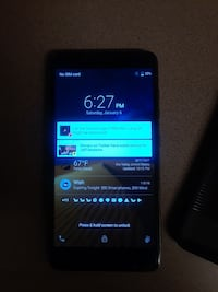 ZTE GRAND MAX 2 android W/ 2 PHONE CASES