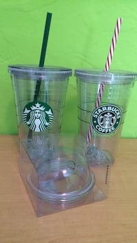 Clear starbucks tumblers
