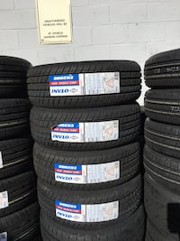 205/55R16 SET OF 4 TIRES ON SALE WE CARRY ALL MAJOR BRAND AND SIZE WE FINANCE NO CREDIT NEEDED  2386 mi