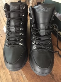 Outdoor Life Traverse Black work boots