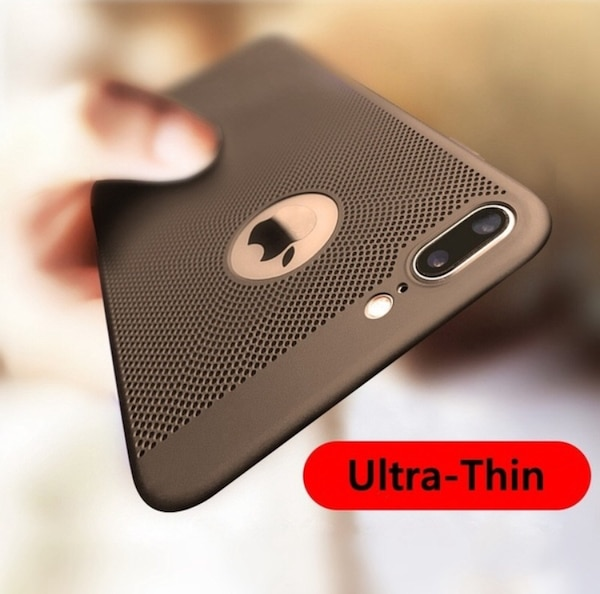 buy online b4409 af75d Trendy Ultra-Thin Breathing Phone Case Shockproof PC Back Covers Cellphone  Accessories for iPhone 6/6s