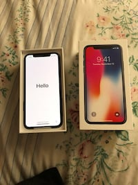 space gray iPhone X with box Lancaster, 93536