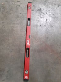"Milwaukee red stick 48"" level (PRICE IS FIRM)"