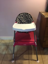 2in1 Evenflo High chair  North Dumfries, N0B