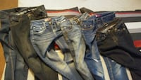 Jeans size 10 in kids 12.00 for the set of 7 West Valley City, 84120