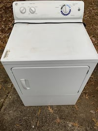 white front-load clothes dryer Seat Pleasant, 20743