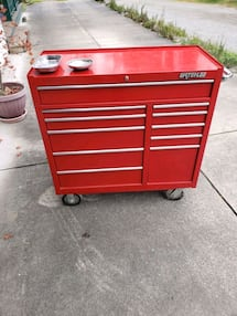 Snap-On tools with Waterloo brand toolbox for sale.