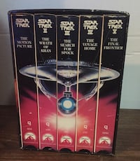 VINTAGE 1992 25TH ANNIVERSARY STAR TREK VHS BOX SET Laval, H7P 4J9