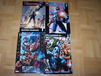 4 books - ULTIMATES & ULTIMATES 2 by Mark Millar Vaughan