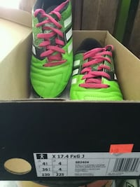 Boys Adidas soccer shoes