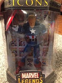 Icons   Marvel Legends Captain America Alexandria, 22304