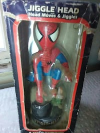 Collectible Spider Man Bobblehead Vernon Valley, 07418