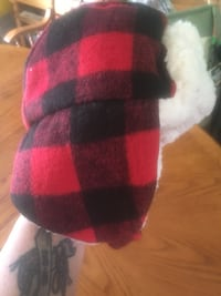 Plaid fleece hat Southgate, N0G