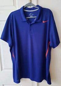 Mens Nike Dri-Fit Short Sleeve Shirts Size 2XL Hyattsville, 20785