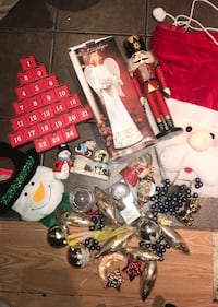 Assorted of Christmas decorations and stuff , I will add more items  North Vancouver, V7K 2H4
