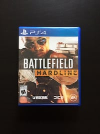 PS4 Game – Battlefield Hardline Edmonton