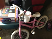 toddler's pink bicycle Vancouver, V6P
