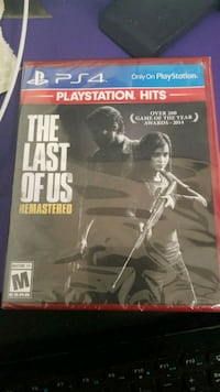 Sony PS4 The Last of Us game case Detroit, 48207