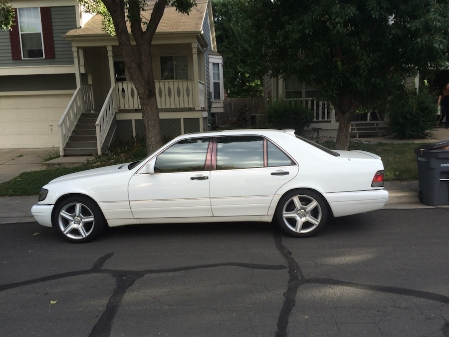 1999 mercedes benz s420 with amg kit low mileage always for Mercedes benz of lafayette lafayette in