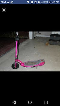 pink and grey Razor electric scooter screenshot