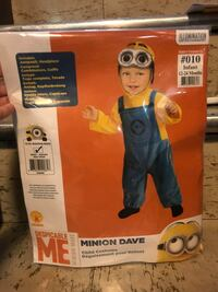 2 Infant minion costumes  New York, 11358