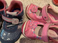 Stride Rite shoes toddler size 5.5 ( blue) and 6 (pink) Hockessin, 19707