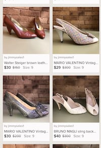 Vintage pumps $20 each! (Tribeca Manhattan)  New York, 10007