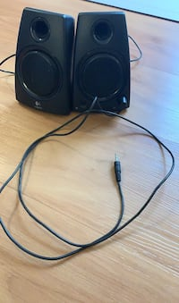 Small speakers with wall charger
