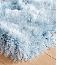 Pier 1 5x8 Shaggy Blue Rug. Like new Beverly Hills, 90211