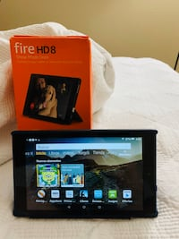 Tablet amazon fire hd8