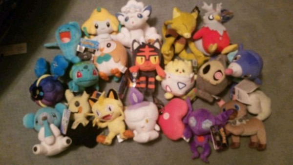 Pokemon Plushies