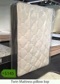 quilted white and gray mattress La Mirada, 90638