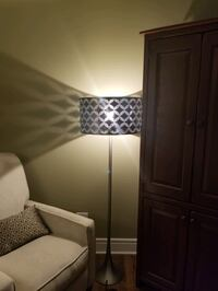 Cool metal lamp with foot switch!