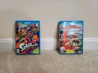 Splatoon and Paper Mario Color Splash For The Wii  Fairfax, 22033