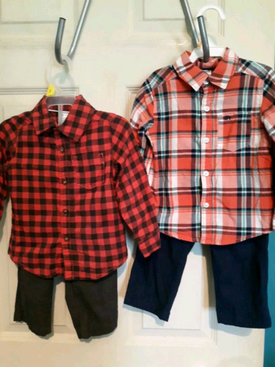 Photo 18 month Carter boys outfits