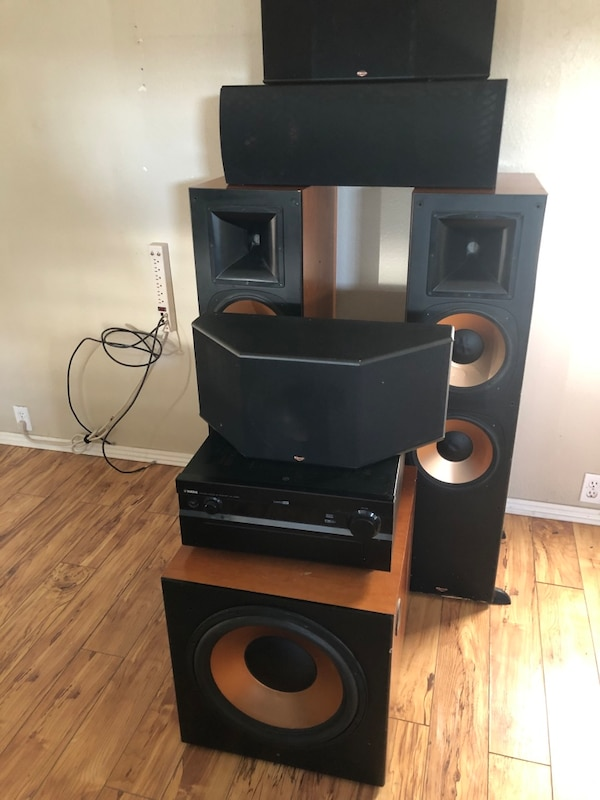 Klipsch reference 7 series fronts,rears, and subwoofer $7500.00 new 55322d1f-f63f-4b2a-9e93-7f630d1b62ff
