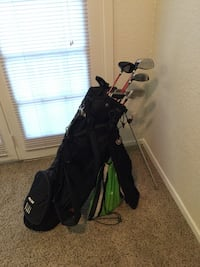 Black golf bag Addison, 75001