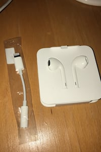 Brand new earbuds and adapter