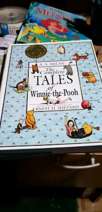 WINNIE THE POOH Hardcover Book Burlington, L7L 6J2