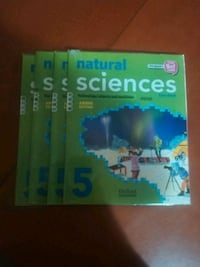 4 libros Natural Sciences 5 ° primaria  Cehegín, 30430