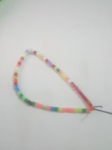 Multicolored beaded acessory