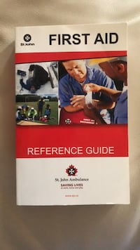 First aid book  Oakville, L6H 3N5